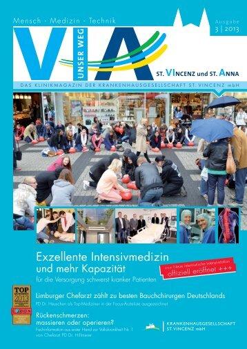 Ausgabe Nr. 3 / 2013 (5,9 MB) - St. Vincenz Krankenhaus Limburg