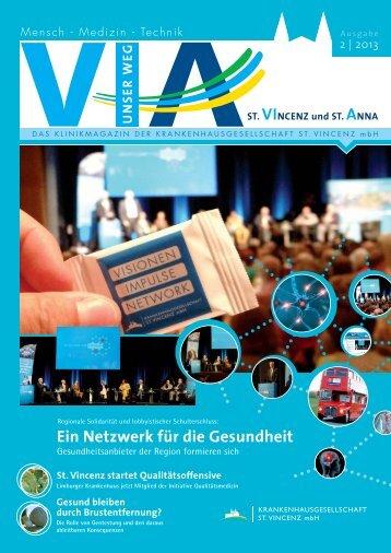 Ausgabe Nr. 2 / 2013 - St. Vincenz Krankenhaus Limburg