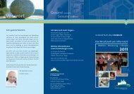 Das Brustzentrum informiert - St. Vincenz Krankenhaus Limburg