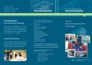 Physiotherapeutische Leistungen - St. Vincenz Krankenhaus Limburg