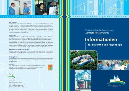 Zentrale Notaufnahme - St. Vincenz Krankenhaus Limburg