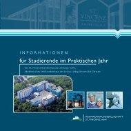 Informationsbroschüre Praktisches Jahr - St. Vincenz Krankenhaus ...