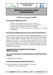 MRSA im Rettungsdienst - St. Vincenz Krankenhaus Limburg