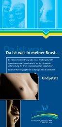 Erkrankungen der Brust (PDF) - St. Vincenz Krankenhaus Limburg