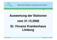 QUIPS-Umfrage 2008 - St. Vincenz Krankenhaus Limburg