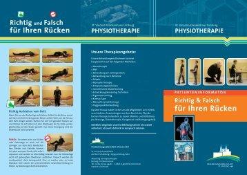 Richtig & Falsch für Ihren Rücken - St. Vincenz Krankenhaus Limburg