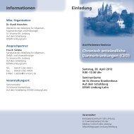 Programm und Anmeldeformular (PDF) - St. Vincenz Krankenhaus ...