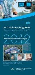 Fortbildungsprogramm - St. Vincenz Krankenhaus Limburg