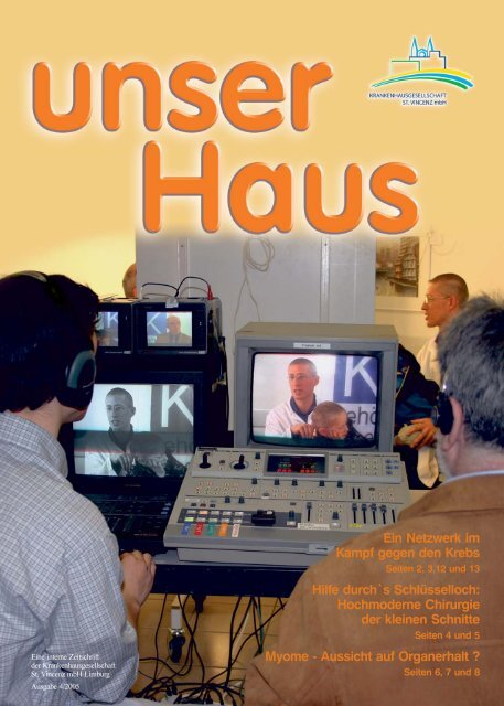 Ausgabe Nr. 4 / 2005 (5,9 MB) - St. Vincenz Krankenhaus Limburg