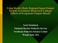 Using Ready-Made Regional Input-Output Models to Estimate ...