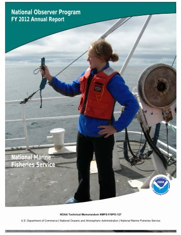 National Observer Program Annual Report - Office of Science and ...
