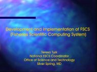Presentation - Office of Science and Technology - NOAA