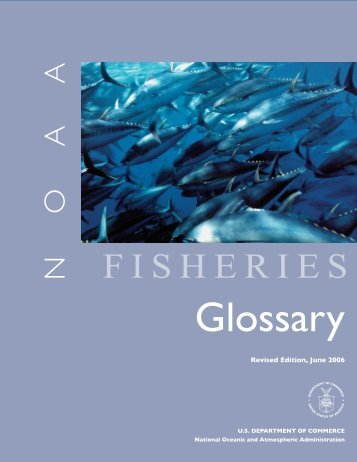Fisheries glossary - Office of Science and Technology - NOAA