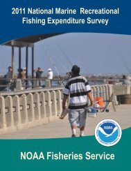 2011 National Marine Recreational Fishing Expenditure ... - NOAA