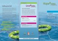 Der Hope4you-Flyer mit Seminarterminen kann hier ...