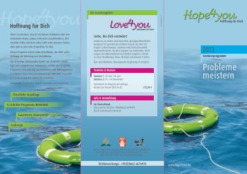 Der Hope4you-Flyer mit Seminarterminen kann hier ...