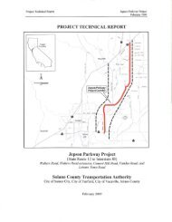 Jepson Parkway Project Technical Report - Solano Transportation ...