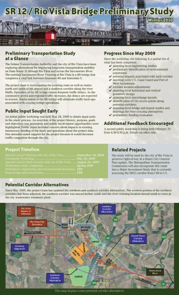 PROJECT NEWSLETTER Winter 2010 - Solano Transportation ...