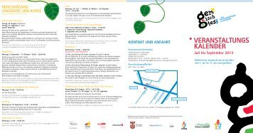 Programm Sommer 2013 - staaken.info