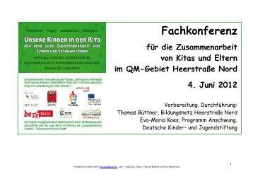 Dokumentation Workshop Zusammenarbeit Eltern ... - staaken.info