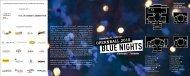 BLUE NIGHTS - Niedersächsische Staatstheater Hannover
