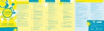 Programm - (BAG) Spiel & Theater