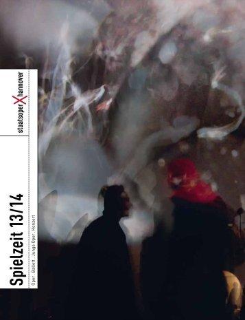Spielzeit 13 14 - Staatstheater Hannover