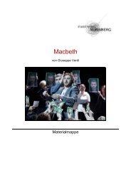 Materialien für Lehrer - Staatstheater Nürnberg