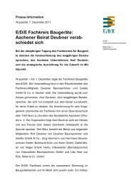 Aachener Beirat Deubner verab - E/D/E Einkaufsbüro Deutscher ...