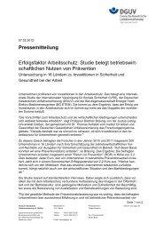 Internationale Studie über den betriebswirtschaftlichen Nutzen von ...