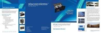 Sub-Systems Brochure - Staco Systems