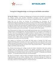 Vertrag für 24 Doppelstockzüge von Aeroexpress und Stadler ...