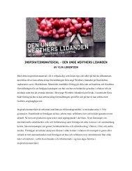 Inspirationsmaterial för lärare, klicka här - Stockholms Stadsteater