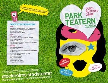 Ladda ned sommarens program - Stockholms Stadsteater ...