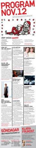 KLARA SOPPTEATER - Stockholms Stadsteater - Page 2