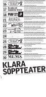 TEATER & SOPPA - Stockholms stadsteater - Page 2