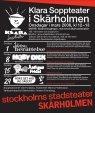 155:- för teater och sopplunch. Tisdag – lördag kl 12 - Stockholms ... - Page 3