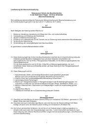 1 Lesefassung der Baumschutzsatzung Satzung zum Schutz des ...