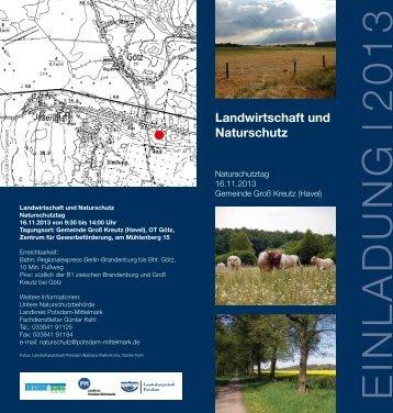 EINLADUNG l 2013 - Brandenburg an der Havel