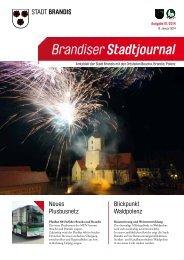 13. Januar 2014 Brandiser Stadtjournal - Stadt Brandis