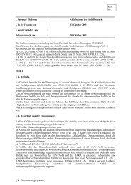 Die Stadtverordnetenversammlung der Stadt Butzbach hat in ihrer ...