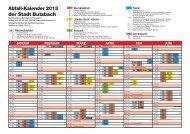 Abfallkalender 2013 (PDF) - Stadt Butzbach