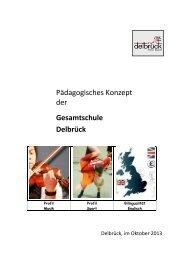 Pädagogisches Konzept der Gesamtschule Delbrück