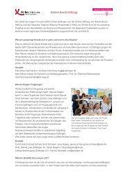 Projektbeschreibungen und Kontaktangaben (PDF) - Stadt der ...