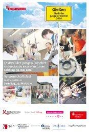 Programmheft zum Festival der jungen Forscher (PDF) - Stadt der ...