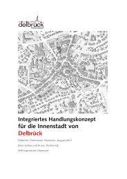 Integriertes Handlungskonzept für die Innenstadt von Delbrück