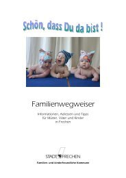 Familienwegweiser Mai 2012 - Stadt Frechen