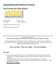 Jugendamtselternbeirat Frechen - Stadt Frechen