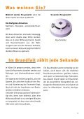 Broschüre zur Brandschutzschulung Feuer · Unfall ... - Stadt Frechen - Page 5