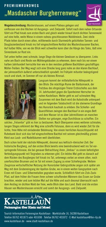 """""""Masdascher Burgherrenweg"""" - Kastellaun"""